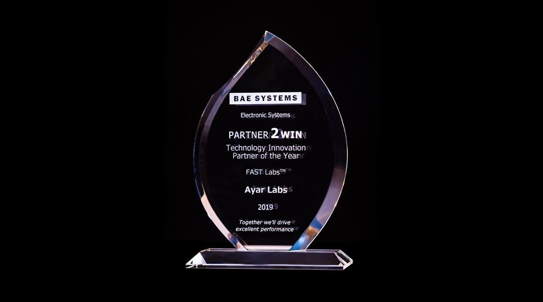 Ayar Labs is Recognized by BAE Systems as FAST Labs™ Technology Innovation Partner of the Year