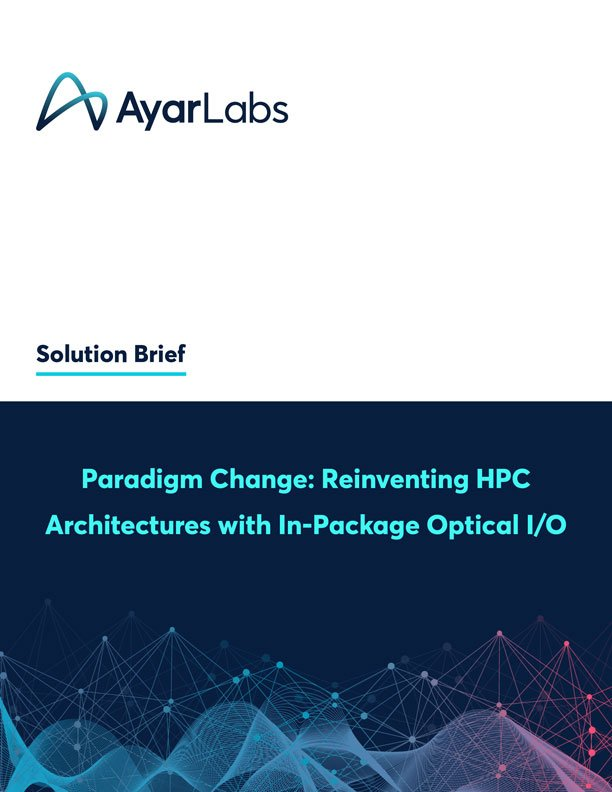 Paradigm Change: Reinventing HPC Architectures with In-Package Optical I/O