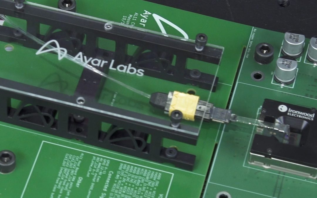 Demonstration of Ayar Labs' Optical I/O Multi-Chip Package and Single-Die Package solutions